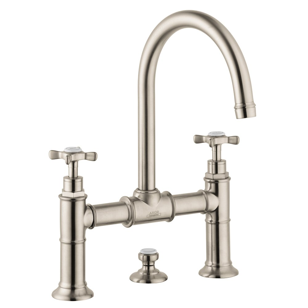 Hansgrohe 16510831 Axor Montreux Widespread Faucet Model Bridge with ...