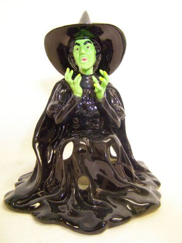 Wizard of oz wicked witch melting candle house 9 1/4