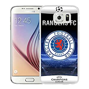 Fashion And Antiskid Cover Case For Samsung Galaxy S6 With Glasgow Rangers White Phone Case 1