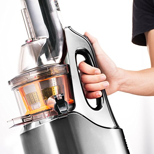 SKG Wide Chute Anti-Oxidation Slow Masticating Juicer 240W AC Motor, 60 RPMs, 3