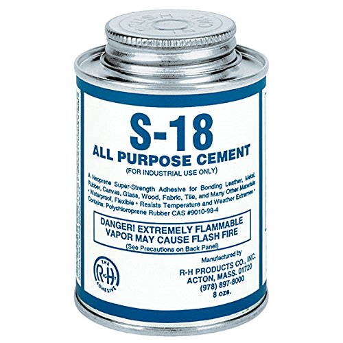 S-18 Neoprene Cement All Purpose 8 oz Can