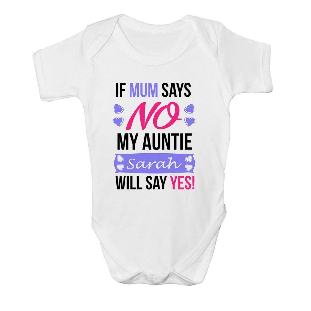 SUPERHERO AUNT GIFT MARVEL AUNTY BABYGROW BABY GROW ALL SIZES 0-3 months 1 ^