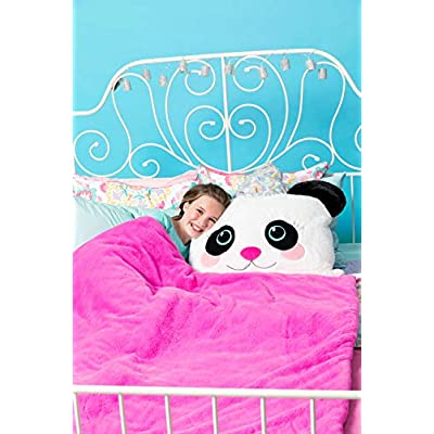 Three Cheers for Girls 3C4G 3-in-1 Fabulous Fur Sleeping Bags – Pandacone Design: Sports & Outdoors