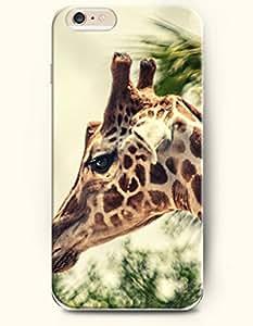 iPhone 6 Plus Case 5.5 Inches Sad Giraffe - Hard Back Plastic Case OOFIT Authentic
