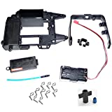 traxxas body clips 90 degrees - Traxxas Jato 3.3 UPPER CHASSIS, RECEIVER BOX COVER, ROLL HOOP & BATTERY HOLDER