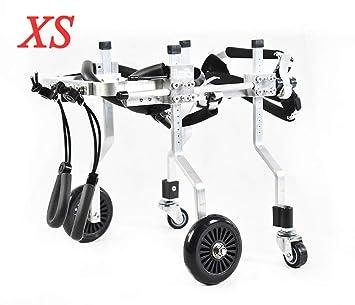 Silla de ruedas para perros, scooter para perros adecuado para mascotas. Patas traseras para