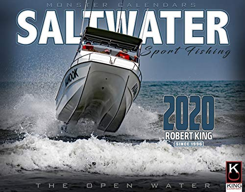 2020 Saltwater Fishing Calendar by The KING Company / Monster Calendars