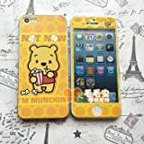 Cute !!''WINNIE THE POOH'' Screen Protective for iPhone 5