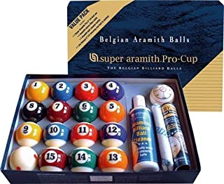Super Aramith PRO-CUP Value Pack by Aramith