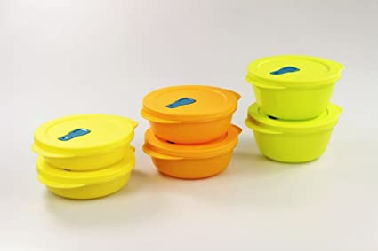 Tupperware Microondas crystalwave 800 ml (2) cal + 600 ml (2 ...