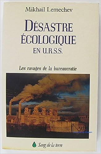 Livre gratuits en ligne Désastre écologique en URSS pdf epub