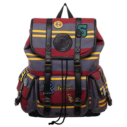 Harry Potter Backpack Hogwarts Houses Bag Harry Potter Patches Backpack – Harry Potter Bag Hogwarts Backpack