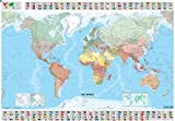 Michelin Map The World  13701  (Laminated, Rolled) (Maps/Wall (Michelin))