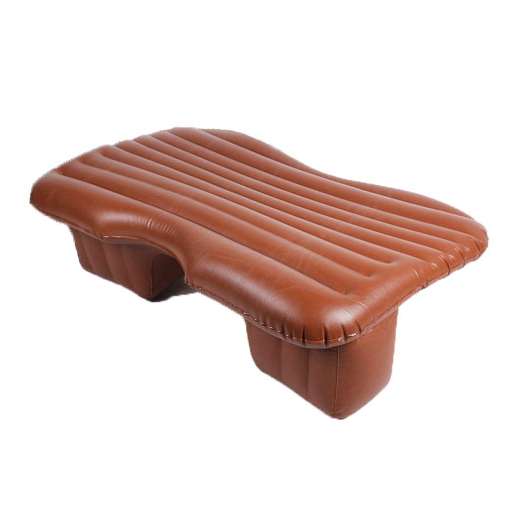 SUV車のベッドカーエアマットレスTPUレザーグリーン(多色オプション) B07FL6DCNP  Brown