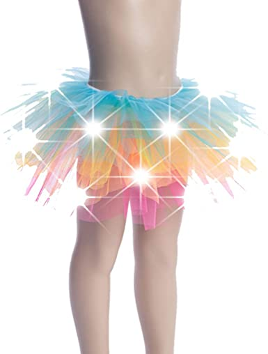 12 Colors Kids//Babies LED Light Up Tutu Skirts Costume Party Stage Dance Dress