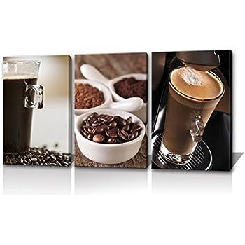 Amazon.com: Noah Art Coffee Art Print Gallery-Wrapped Contemporary ...