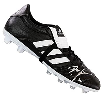 0580b3c02ca8e John Barnes Signed Football Boot - Adidas Gloro Autograph Cleat ...