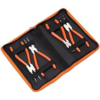 ASTRO 94221 Astro Tools 7In Internal External CrV Snap Ring Pliers 4 Piece 0....