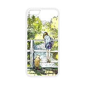 """JenneySt Phone CaseWinnie The Pooh Pattern For Apple Iphone 6,4.7"""" screen Cases -CASE-10"""