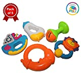 Smiles Creation Cute Rattle Toy (Pack of 5)