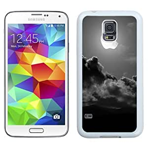 Apple Moon (2) Durable High Quality Samsung Galaxy S5 Case