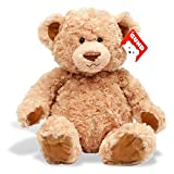 "Gund Soft, Huggable Maxie Teddy Bear, The One They Will Love Forever, Plush Stuffed Animal 19"" Inches"