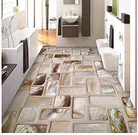 Cczxfcc Benutzerdefinierte Fototapete 3d Fliesen Mosaik Boden Kunst