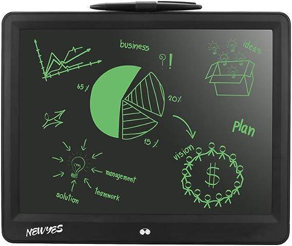 Aibecy 液晶手書きボード 手書きボード,15インチポータブルシンライティングタブレット用キッズオフィスLCDライティング手書きパッドタブレット子供描画ミニ黒板