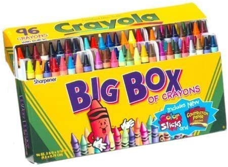 Pack of 2 CYO520096 Sharpener Included Crayola Crayons 96 Colors