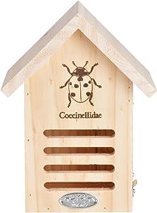 """Esschert Design USA 6.7"""" X 4.8"""" X 9"""" Wooden Butterfly House"""