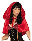 Forum Novelties Women's Little Hooded Cape-Std - Red - Standard