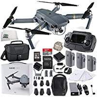 DJI Mavic Pro FLY MORE COMBO Collapsible Quadcopter Travel Bag Starters Bundle