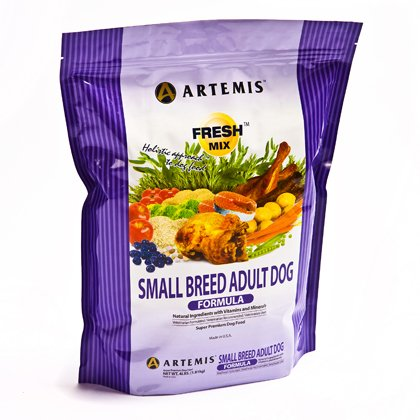 ARTEMIS 133043 Fresh Mix Small Breed Adult Food, 30-Pound, My Pet Supplies