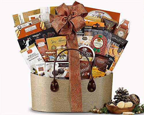 wine meat and cheese gift baskets - 8