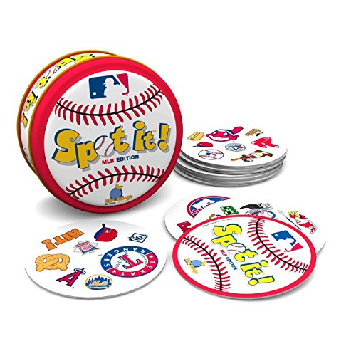 (Spot-It MLB Edition Baseball Party Card)