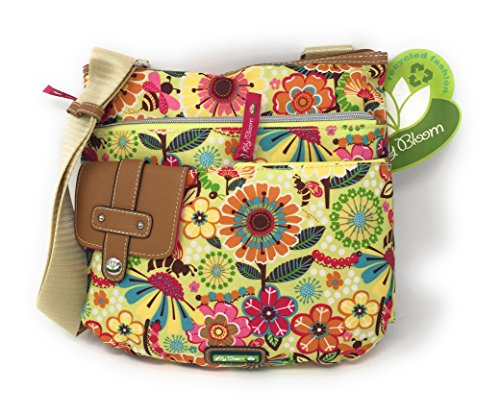 Lily Bloom Busy Bee Sunshine Flowers Camilla Crossbody Bag