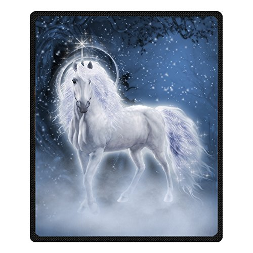 Beautiful Sofa (Ormis Beautiful Unicorn Pattern Unique Bed/Sofa Soft Throw Blanket 60x80inch (Large))