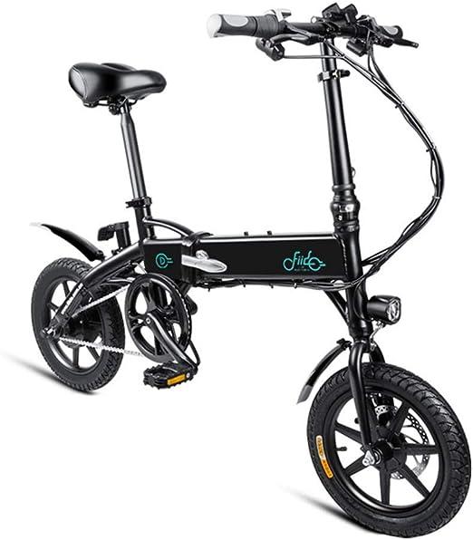 Quiet.T Bicicleta Eléctrica Plegable, 3 Pasos, Plegado Rápido, Más ...
