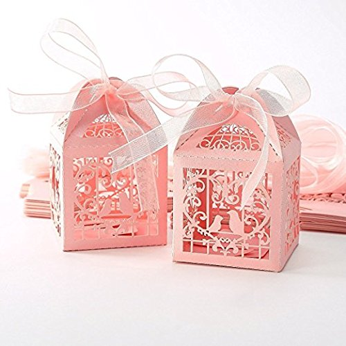 Bridal shower decorations amazon candy box packaging for wedding baby shower christmas birthday party tankerstreet sweet box empty set junglespirit Choice Image