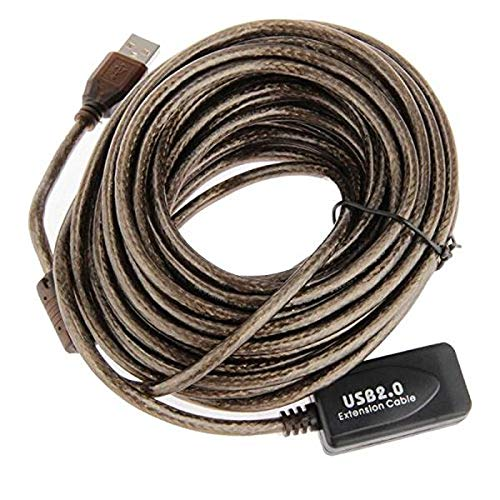 5X 10M USB 2.0 Extension Active//Repeater 480 Mbp Active USB Extension Cable