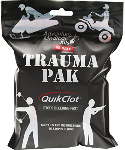 (Adventure Medical Kits Trauma Pak Emergency Field Kit with Advanced Clotting Sponge)