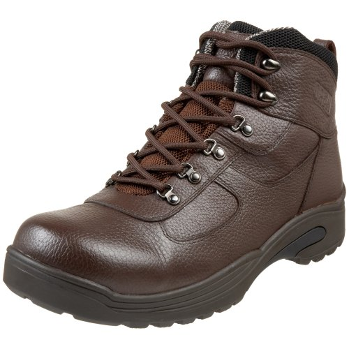 (Drew Shoe Men's Rockford, Brown Tumbled Leather, 8.5 W (EE))