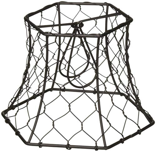 Cleveland Vintage Lighting Clip On Lampshade: Best Chicken Wire Lamp Shade List