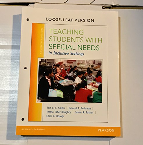 Teaching Students W/Special Need...(Ll)