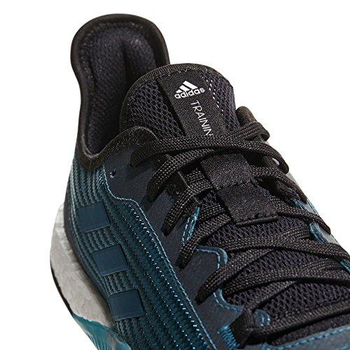 adidas Herren Crazytrain Elite M Gymnastikschuhe, Schwarz, XL Blau (Reatea/Petnit/Cblack Reatea/Petnit/Cblack)