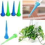 20 Pcs Drip Emitter Curved Arrow Micro Flowers Drops Water Saving Practical Garden Micro Drip Irrigation Equipment Black