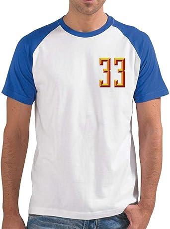 latostadora - Camiseta Mis Cojones 33 Espalda para Hombre: rusocervera: Amazon.es: Ropa y accesorios