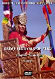 Great Festivals Of Peru (English Version) [DVD+CD]
