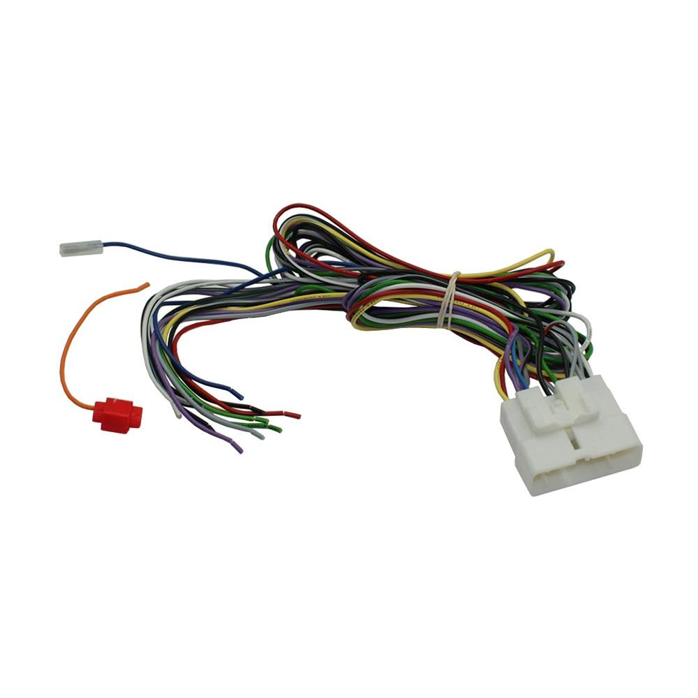 SCOSCHE LS01B 2001-05 Lexus IS Amp Bypass Harness (for Factory Amp located behind glove box)