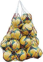 Basketball Mesh Bag, Football Sports Ball Bag, Basketball Nylon Net Carry Bag, Large Size Net Bag for Basketba